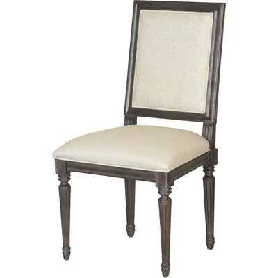 Berkeley 3 Bergere Side Chair (Set of 2) Side Chair Finish: Brownstone