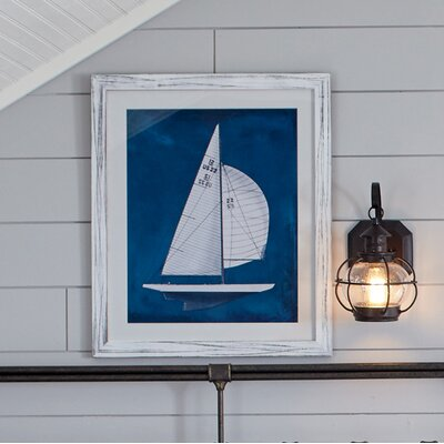 Ship Yacht Club Framed Print