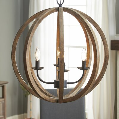 Stanton 4-Light Candle-Style Chandelier