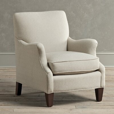 Clayton Armchair Fabric: Flax