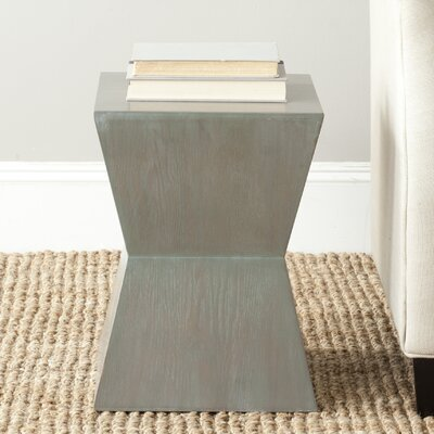 Mcarthur End Table Color: French Grey
