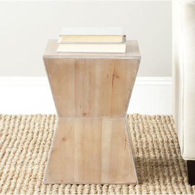 Mcarthur End Table Color: Red Maple