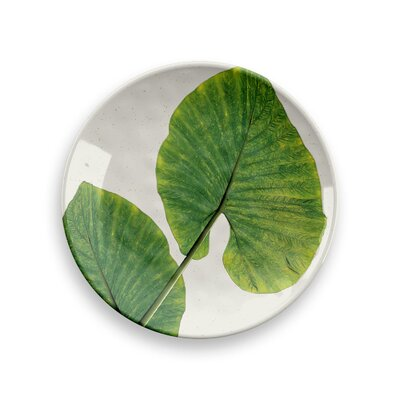 Rainforest Leaves Dinner Plate