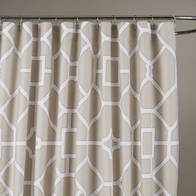 Sandra Shower Curtain Color: Birch