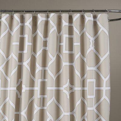 Sandra Shower Curtain Color: Birch