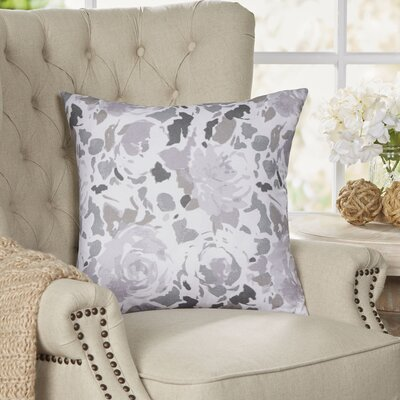 Bloomington Throw Pillow Size: 22 H x 22 W x 4 D, Color: Purple