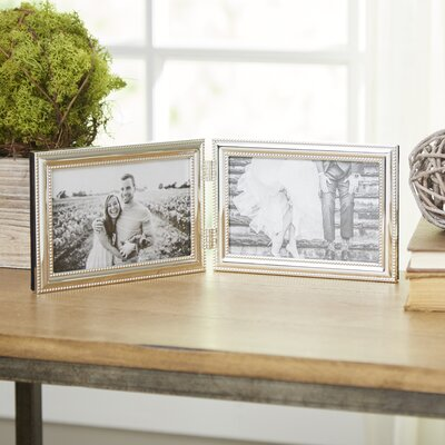Abouet Hinged Duo Picture Frame