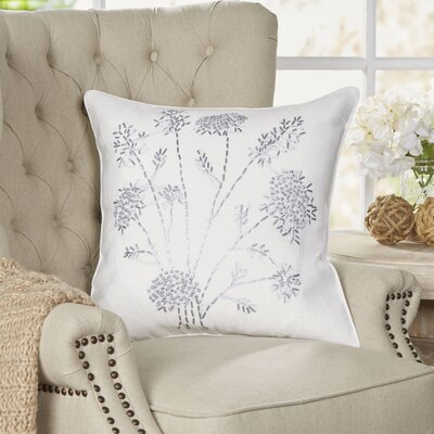 Wispy Grains Pillow Color: Ivory