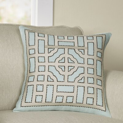 Mattea Linen Throw Pillow Cover Size: 18 H x 18 W x 0.25 D, Color: Neutral