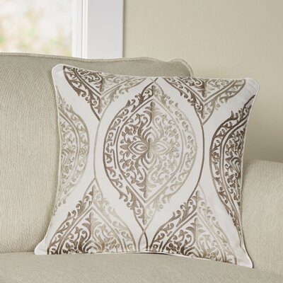 Eagan Pillow Cover Size: 18 H x 18 W x 1 D, Color: Brown
