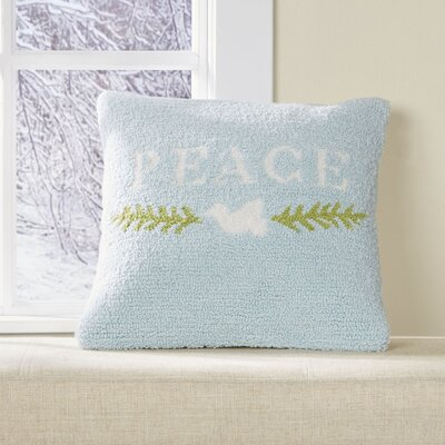 Peaceful Dove Pillow Cover Fill Type: Polyfill