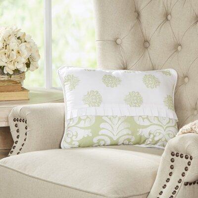 Berthold Wide Lumbar Pillow Color: Cucumber