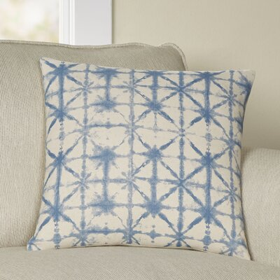 Lida Nebula Pillow Cover Size: 22 H x 22 W x 1 D, Color: BlueNeutral