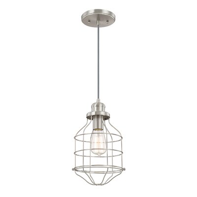 Trenton Pendant Finish: Brushed Nickel