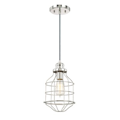 Trenton Pendant Finish: Polished Nickel