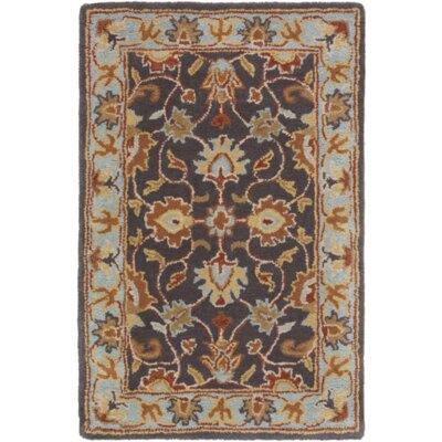 Arden Pewter Rug Rug Size: 2 x 3