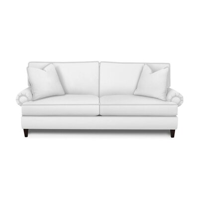 Howard Sofa Upholstery: Microsuede Charcoal