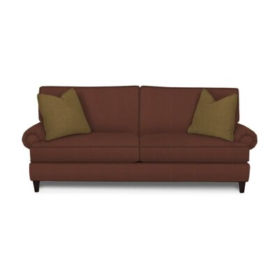 Howard Sofa Upholstery: Microsuede Chocolate