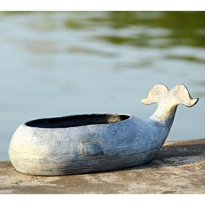 Whale Flower Aluminum Pot Planter