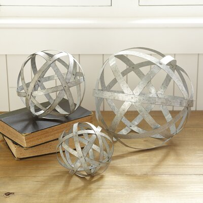Galvanized Metal Spheres