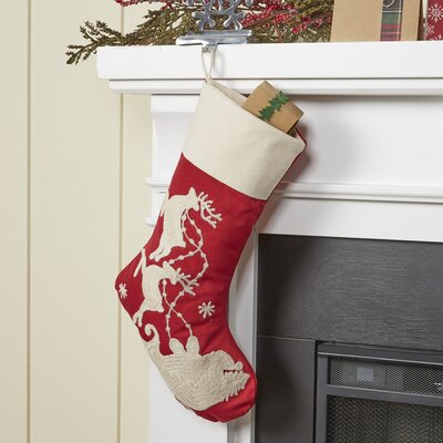 Flying Sleigh II Stocking