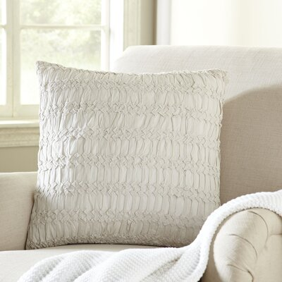 Geraldine Pillow Cover Color: Beige