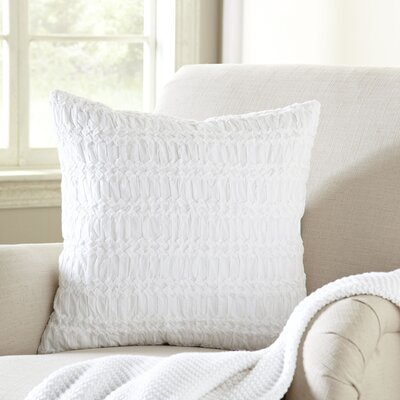 Geraldine Pillow Cover Color: White