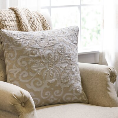 Trellis Applique Pillow Cover