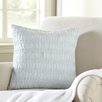 Geraldine Pillow Cover Color: Blue