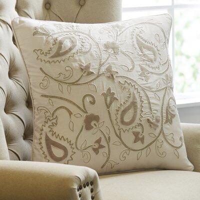 Paisley Applique Pillow Cover
