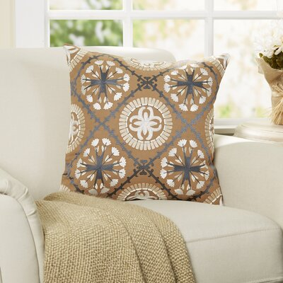 Solva Embroidered Pillow Cover