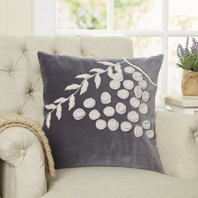 Grapevine Applique Pillow Cover