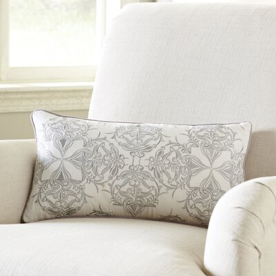 Muted Gray Lumbar Pillow Cover