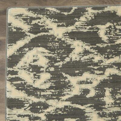Shaima Dark Gray / Beige Area Rug Size: 23 x 3