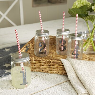 4-Piece Perth Numbered Jar Set