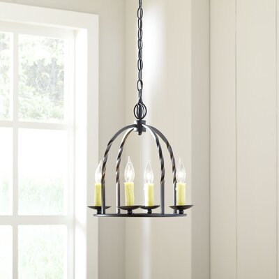 Dawburn 4-Light Candle-Style Chandelier