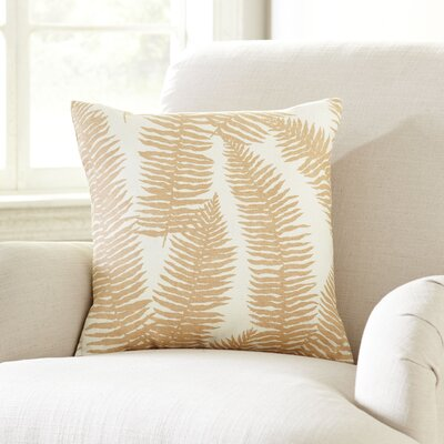 Repeating Fronds Pillow Cover