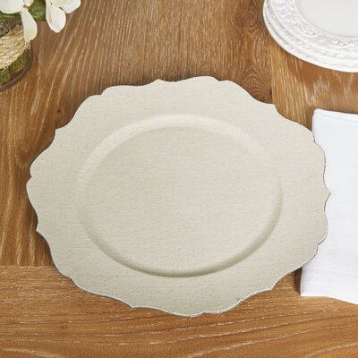 Toni Charger Plate (Set of 6)