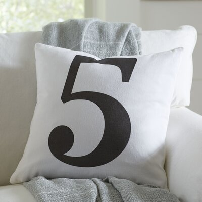 Lucky Number Pillow Cover Number: 5
