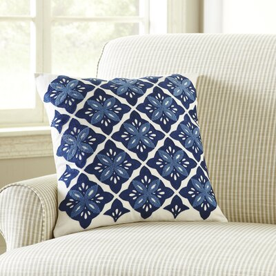 Anine Embroidered Throw Pillow