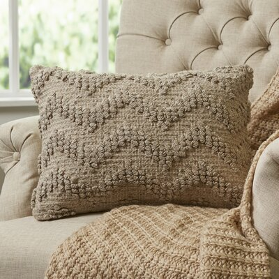 Blaise Looped Chevron Lumbar Pillow