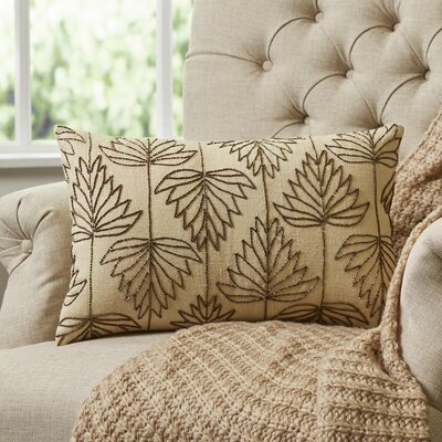 Leaf Tracing Lumbar Pillow Cover