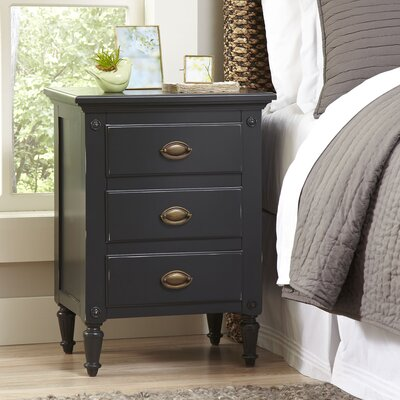 Sargasso Nightstand Color: Black
