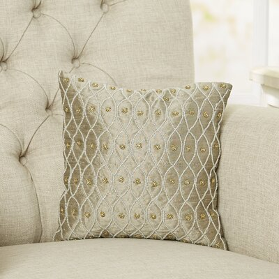 Ernestine Beaded Pillow Cover
