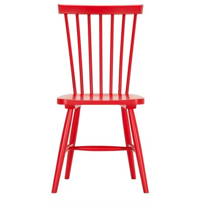 Sowerby Side Chairs (Set of 2) Finish: Red