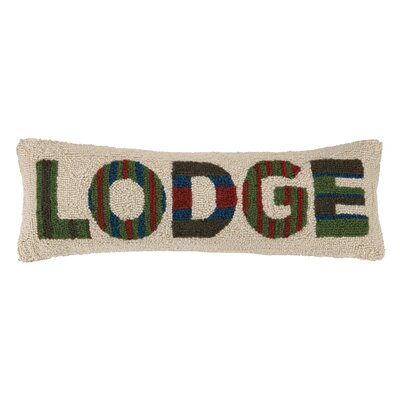 Lodge Hooked Pillow