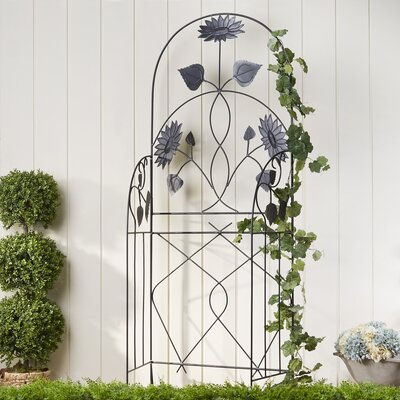 Flowered Trellis Panels