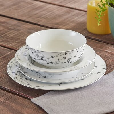 Sparse Vines 16-Piece Dinnerware Set