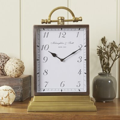 Duncombe Oversized Table Clock