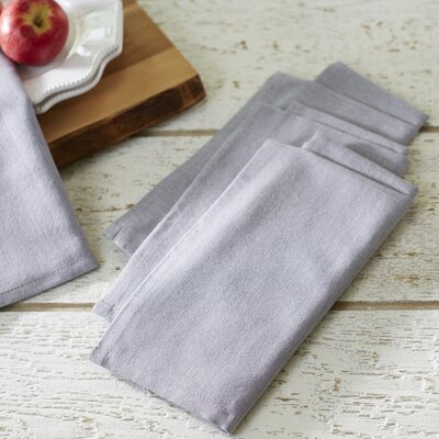 Fryeberg Chambray Napkins Color: Cloud